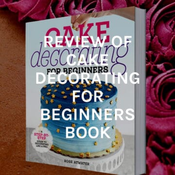 review of cake decorating book featured image