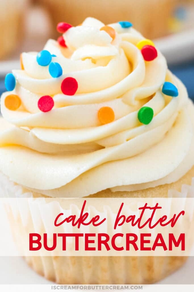 Cake Batter Buttercream Pin Graphic 3