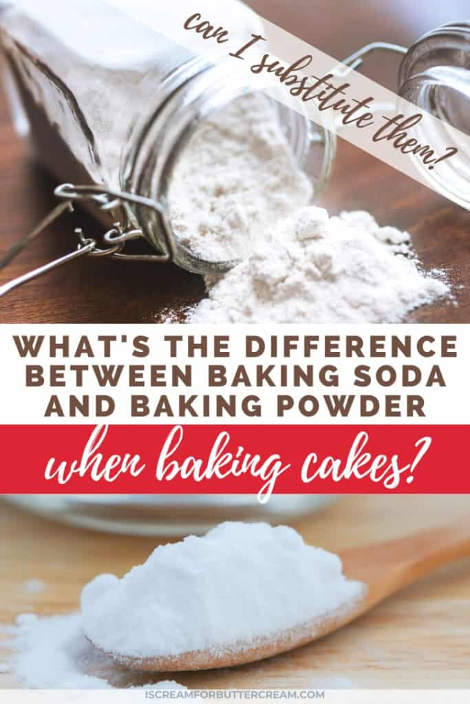 whats the difference in baking soda and powder pin 1