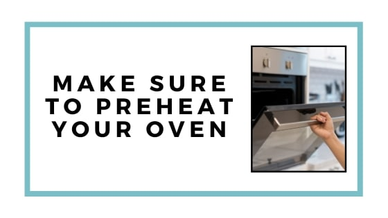 preheat oven graphic