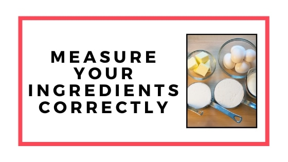 measure ingredients graphic