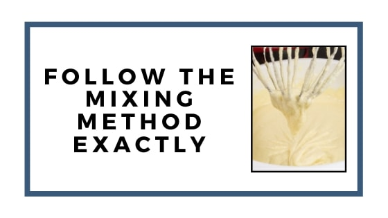 following mixing method
