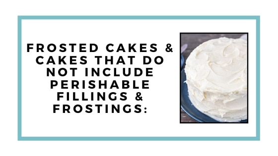 frosted cakes graphic