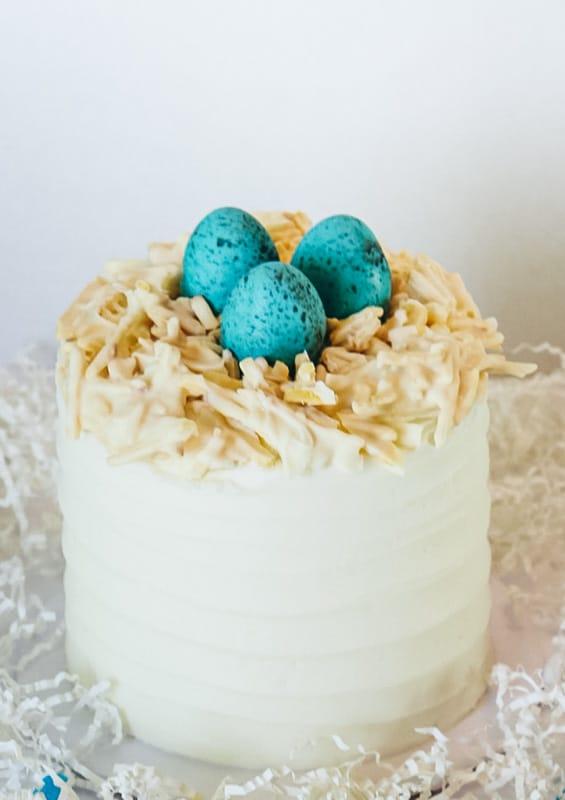 cadbury egg easter cake full pic