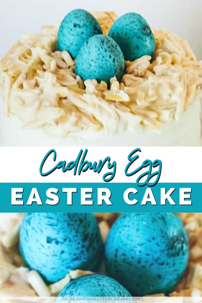 cadbury egg easter cake pin graphic 1