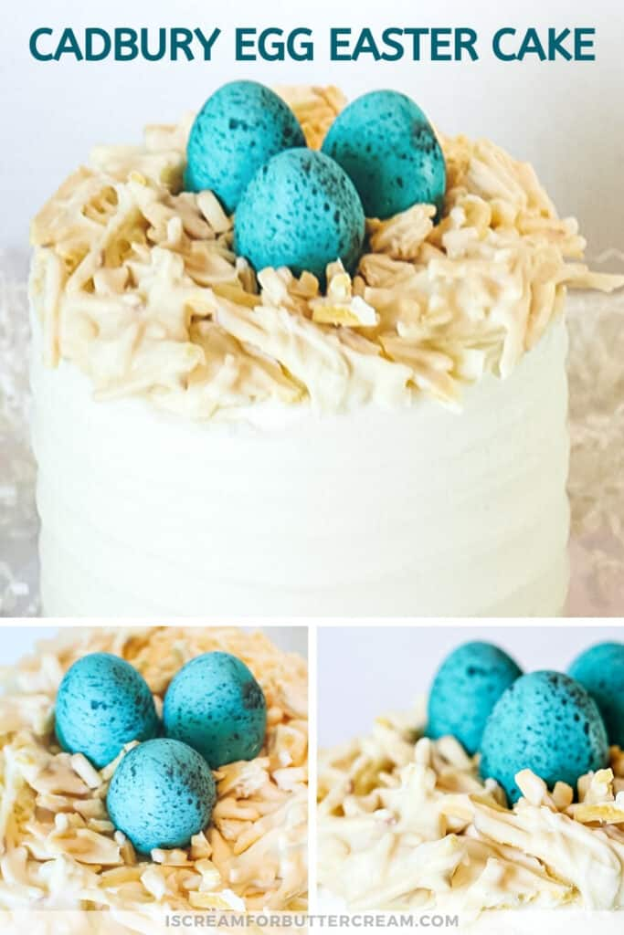 cadbury egg easter cake pin graphic 2