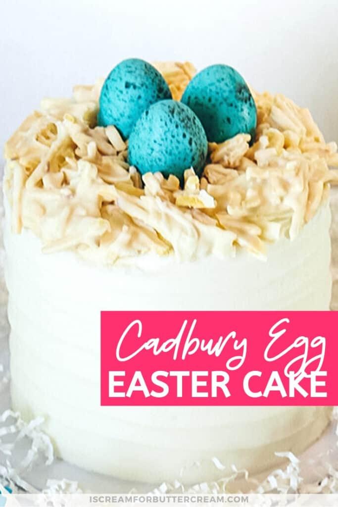 cadbury egg easter egg cake pinterest graphic 3