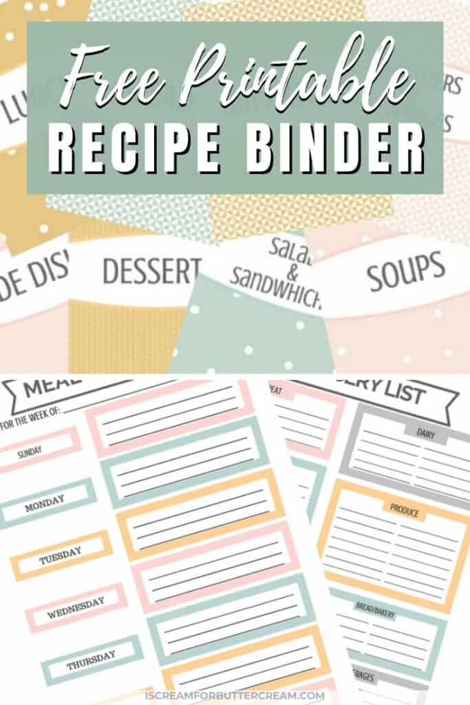 printable recipe binder pin graphic 1