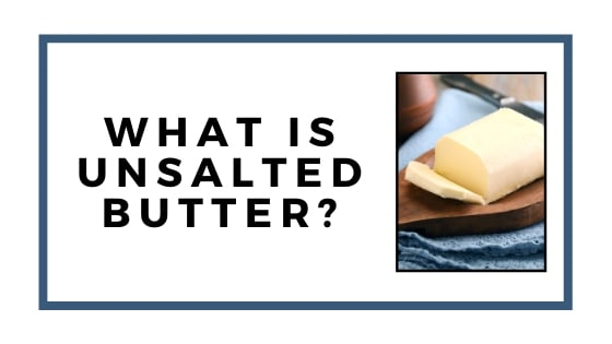 unsalted butter graphic