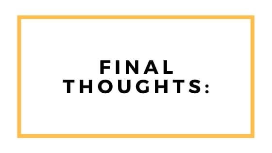 final thoughts graphic