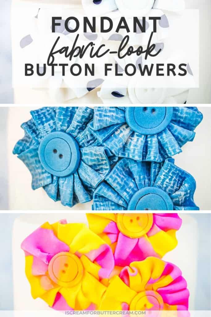 fondant ruffle flowers pin graphic