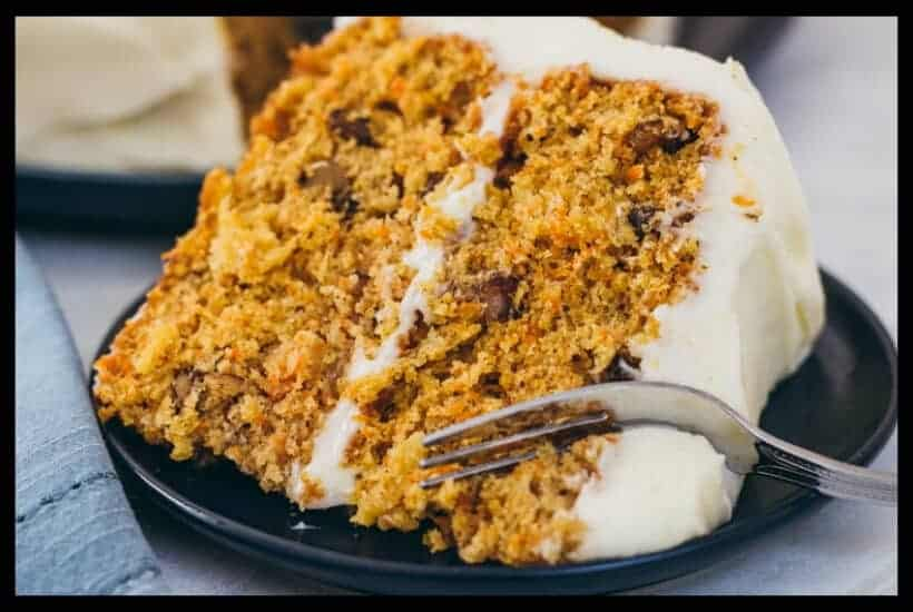 Moist Scratch Carrot Cake with Pineapple Featured Image