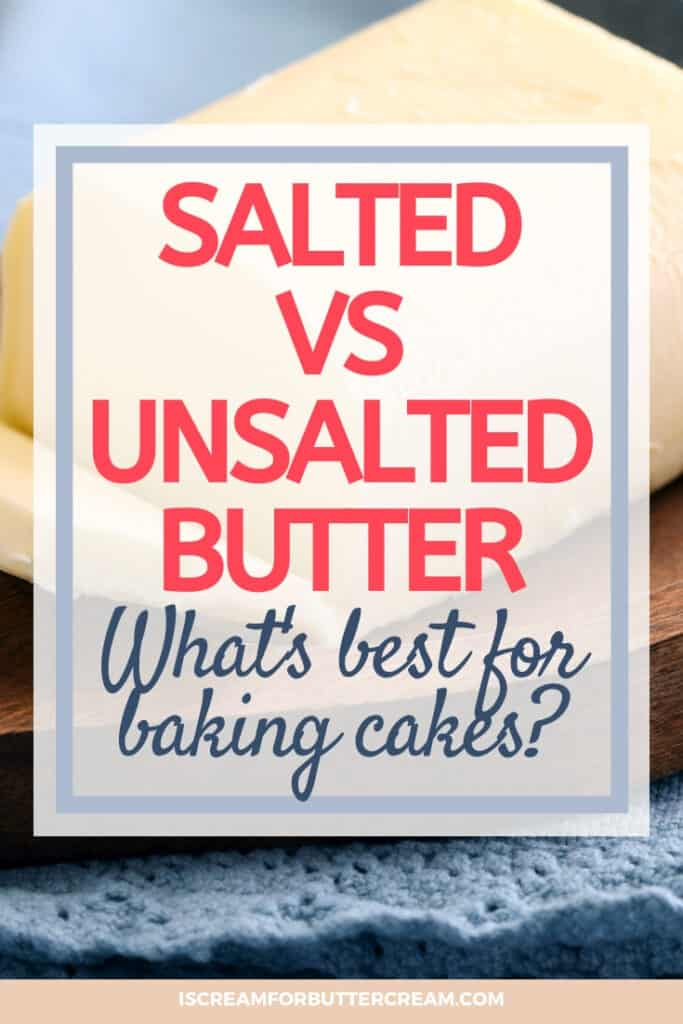 butter for cakes pin graphic