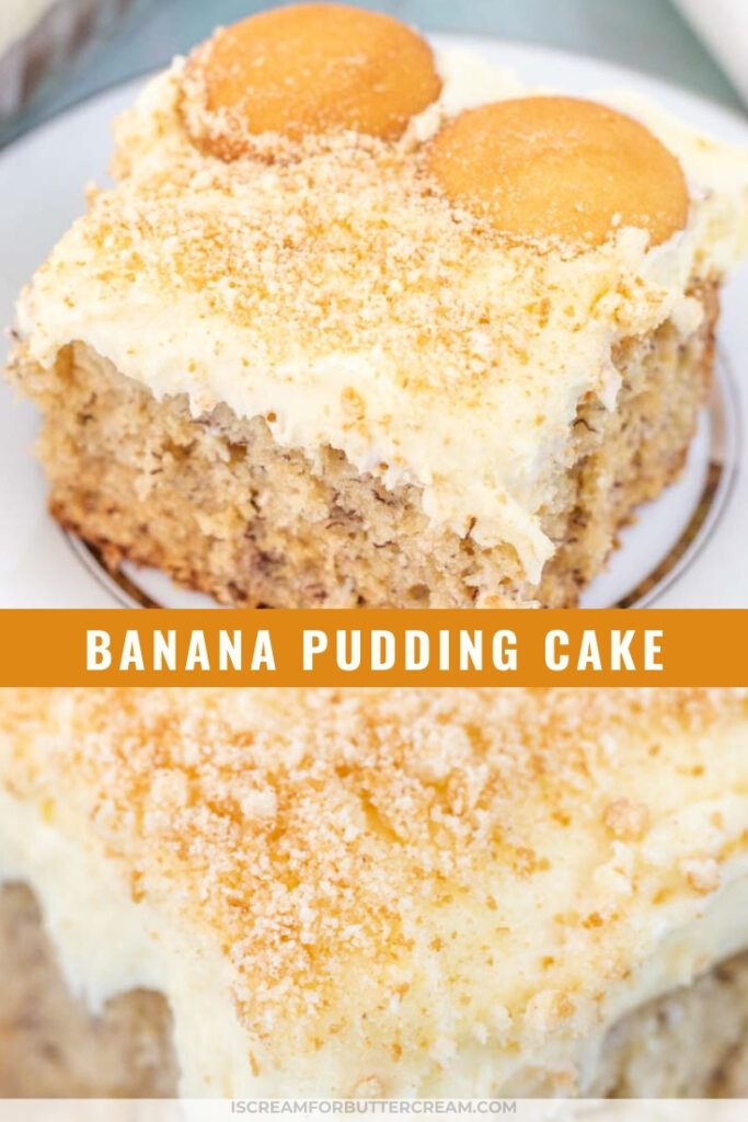 banana pudding cake pin graphic