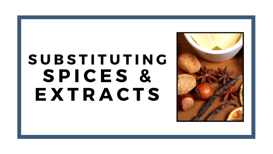 spices and extracts graphic