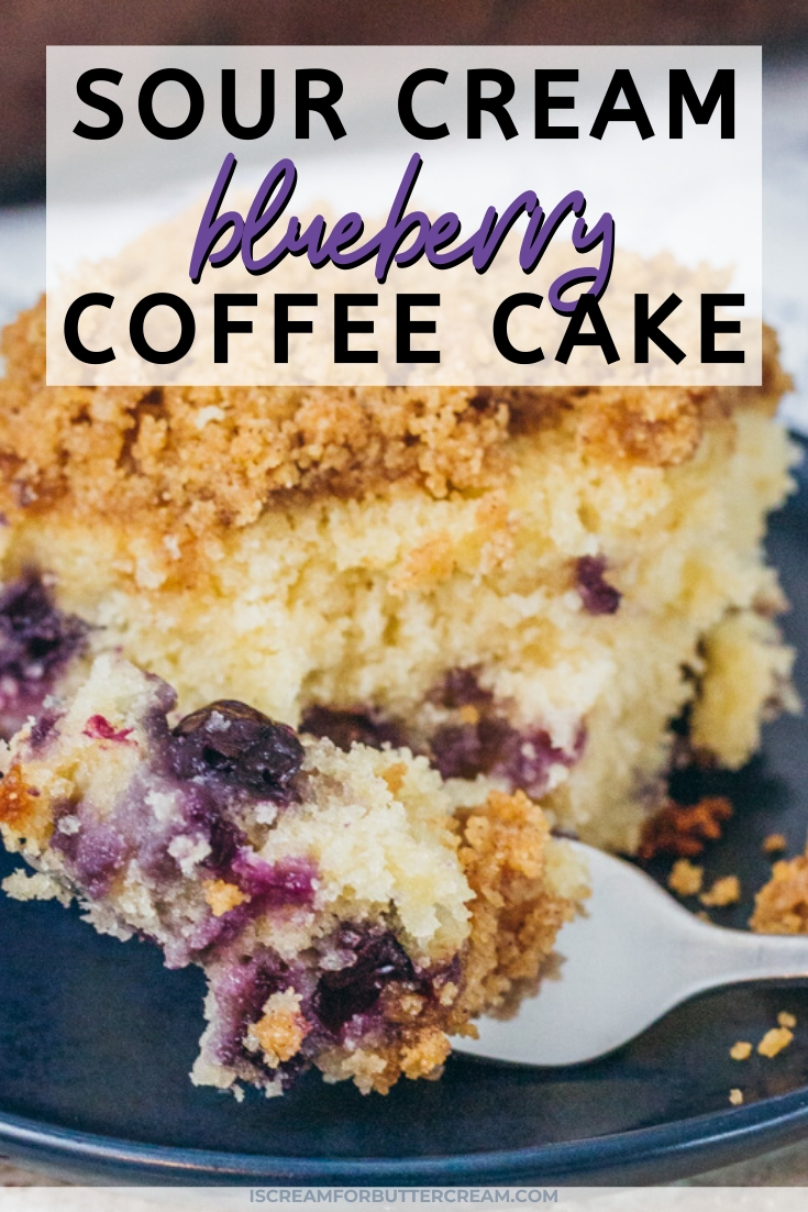 blueberry coffee cake pin graphic