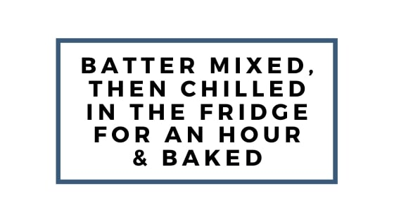 batter mixed and chilled for one hour graphic