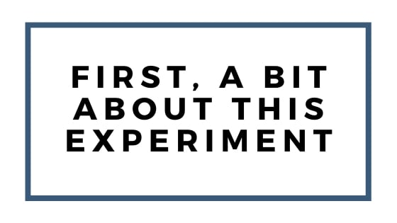 a bit about this experiment graphic