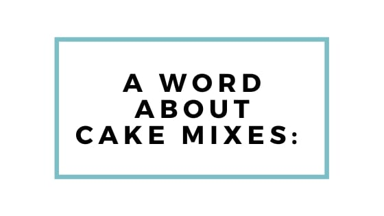 word about cake mixes graphic