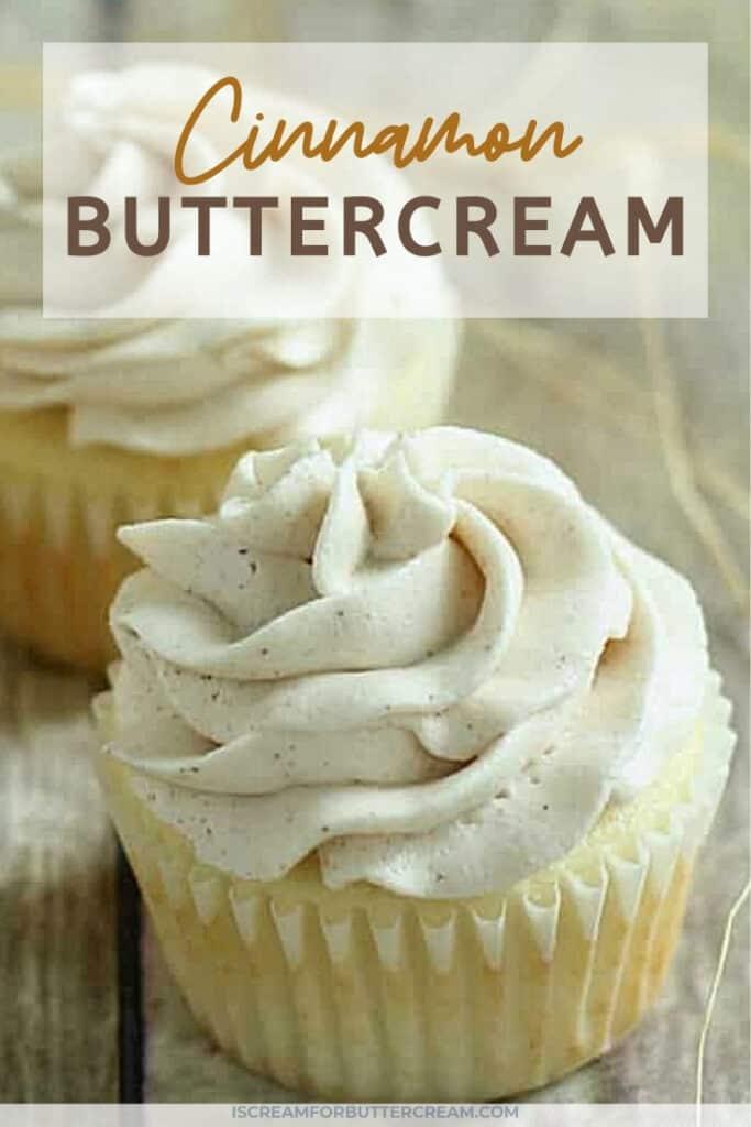 cinnamon buttercream pin graphic