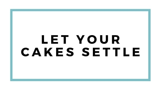 let cakes settle graphic