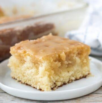 vanilla buttermilk cake featured image