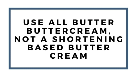 use all butter
