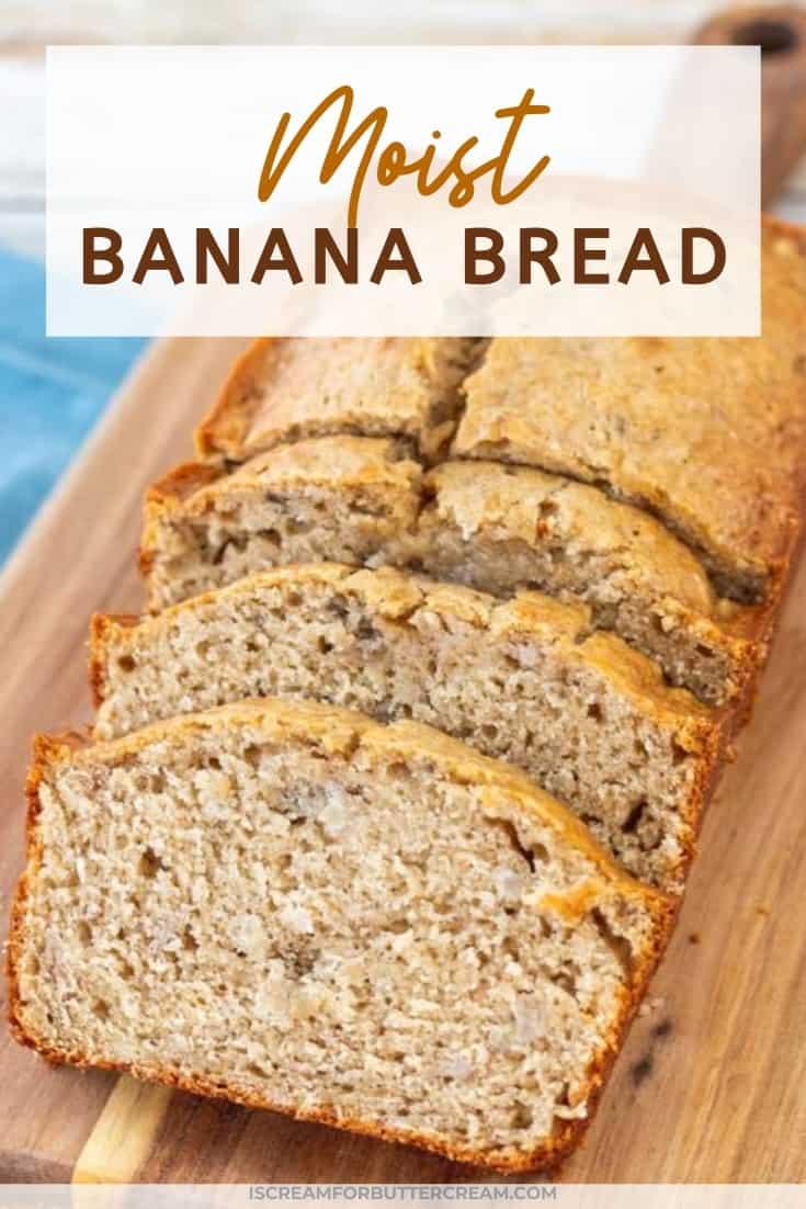 banana bread post title graphic
