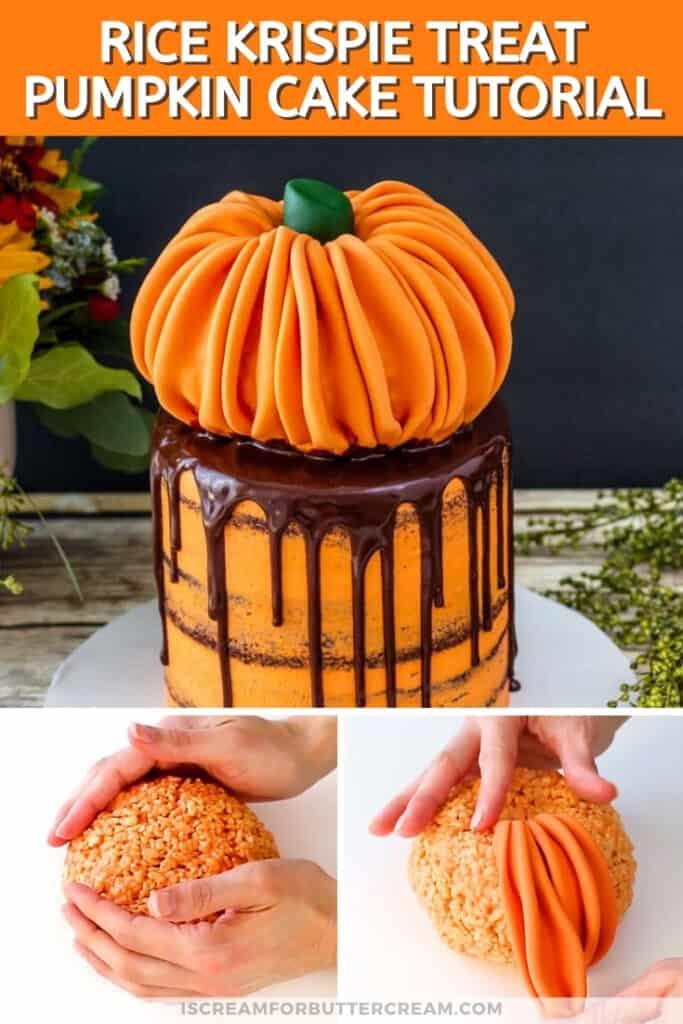 pumpkin topper cake pin graphic