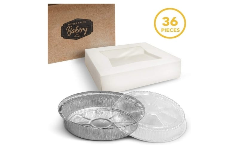 disposable pie plates with lids