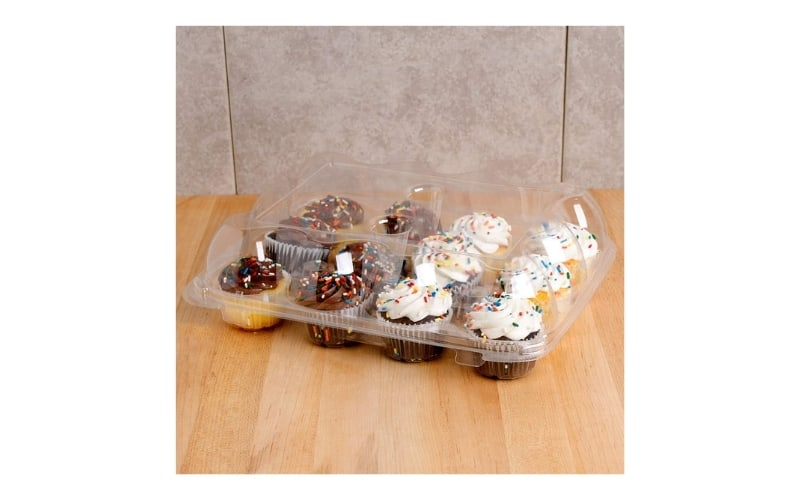 plastic cupcake containers
