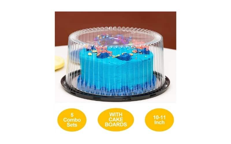 plastic layer cake container