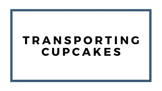 transporting cupcakes graphic