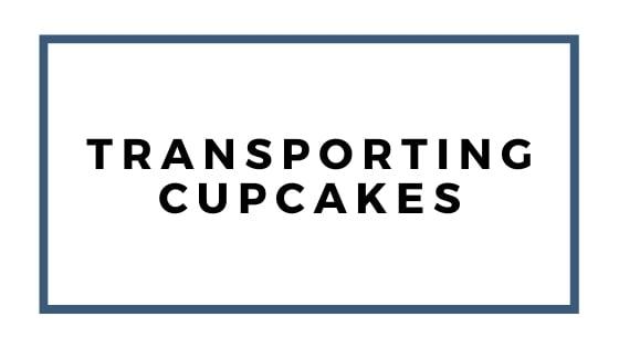 trasporto grafico cupcakes
