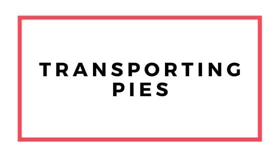 trasporto grafico di torte