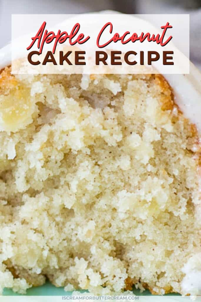 apple coconut cake pin graphic