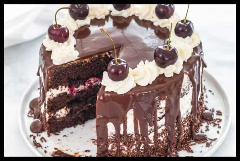 black forest cake featured graphic