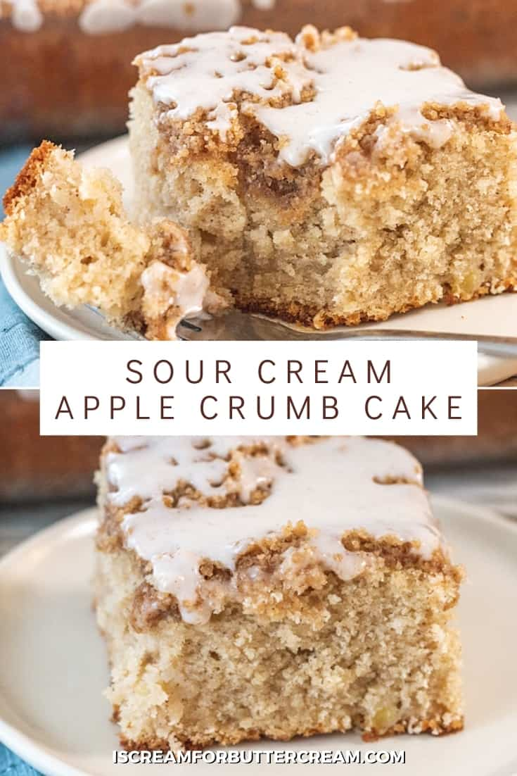 apple coffee cake pin graphic