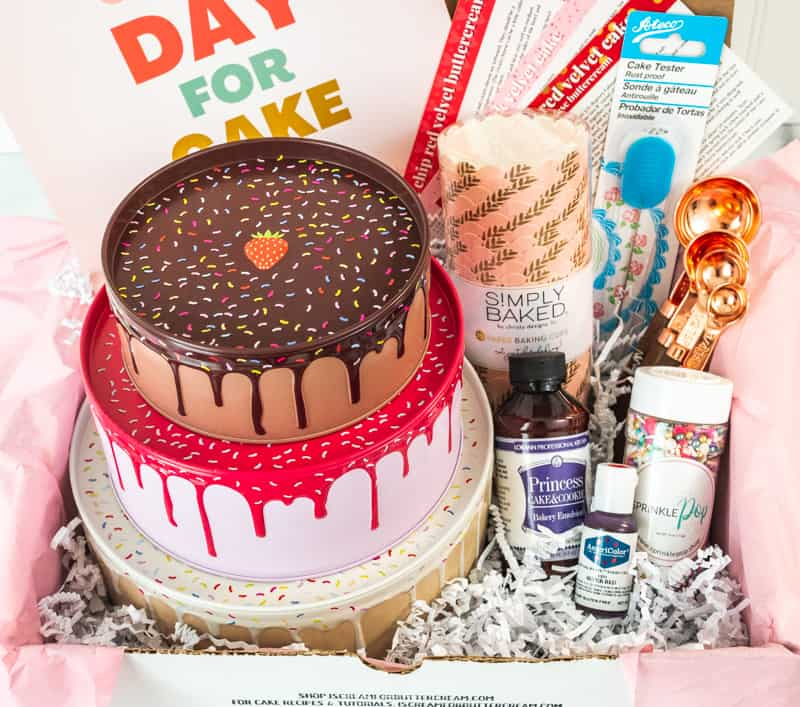 contents of cake swag january 2021 box
