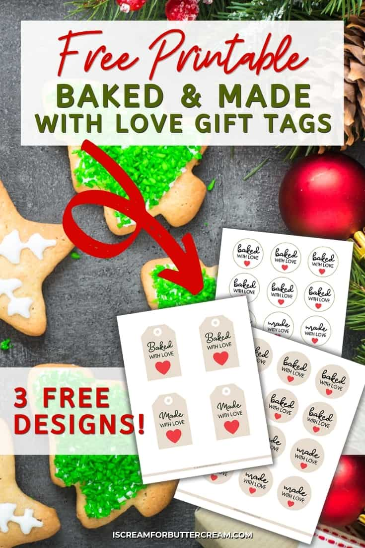 baked and made with love tags pinterest graphic