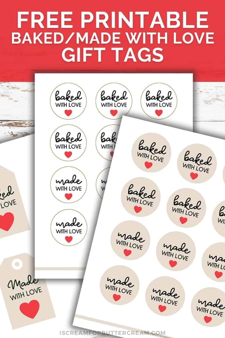 baked with love gift tag pinterest graphic