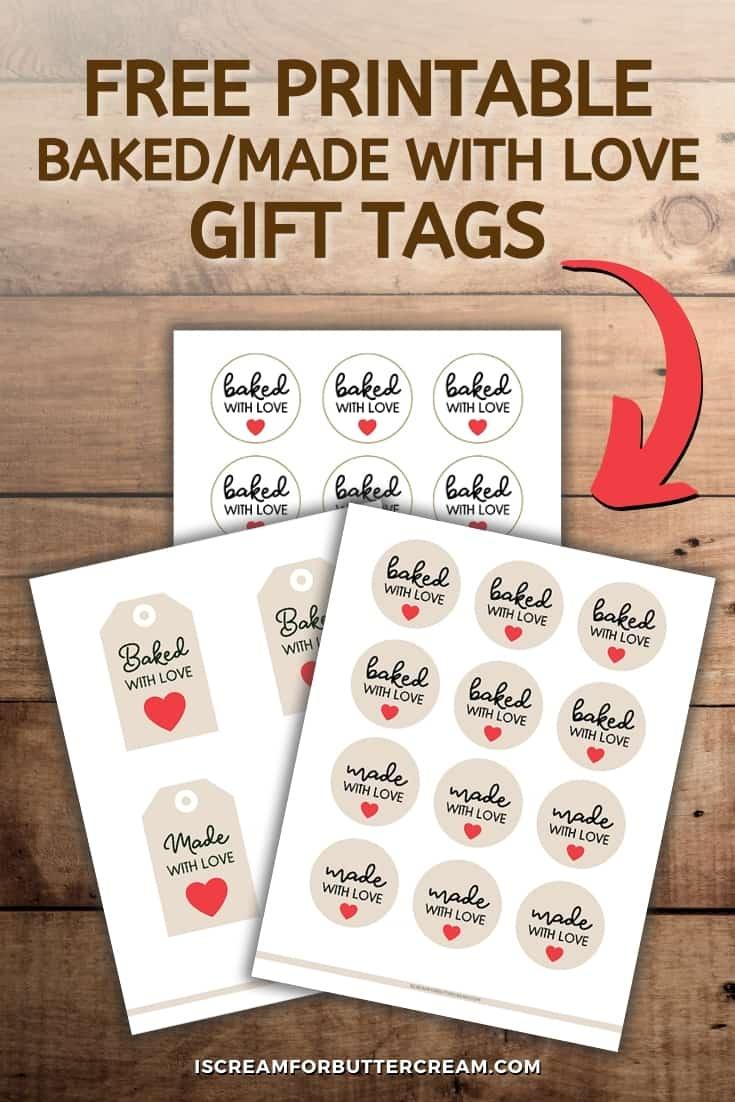 printable gift tags pin graphic