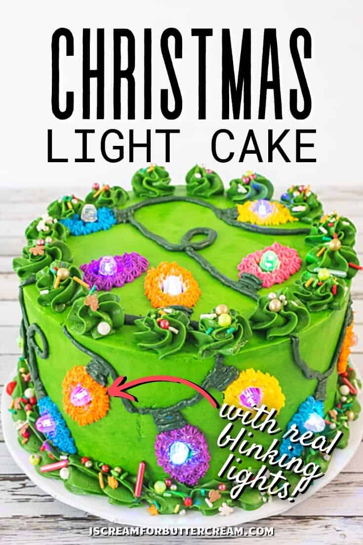 christmas light cake pin graphic 1