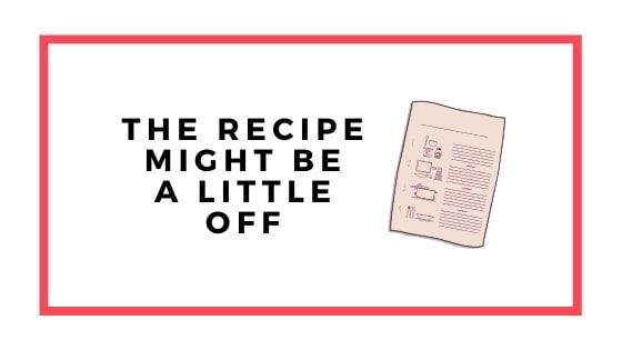 recipe graphic