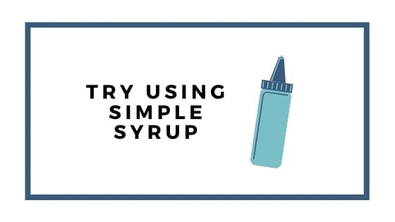 using simple syrup graphic