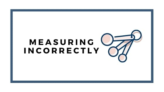 measuring correctly graphic