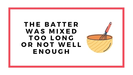 batter mixed too long graphic