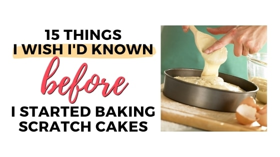 15 things about cake baking top graphic