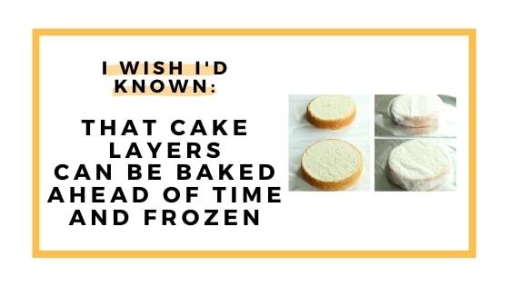 freeze cake layers graphic
