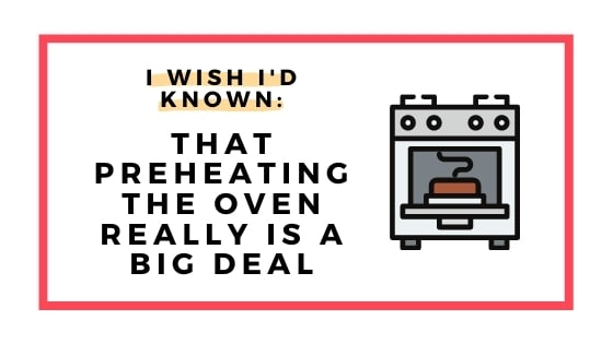 preheat the oven graphic